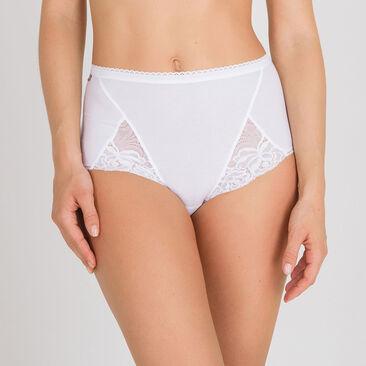 2 Culottes Maxi blanches – Coton & Dentelle-PLAYTEX