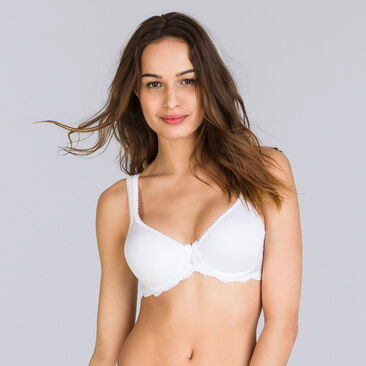 Soutien-gorge spacer blanc - Flower Elegance-PLAYTEX