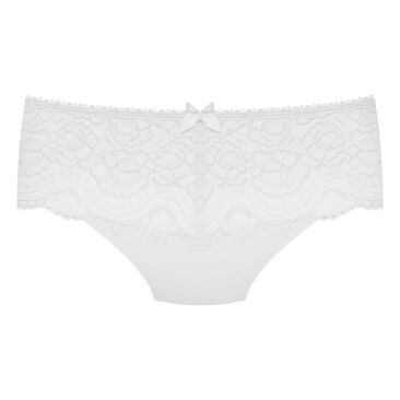 Culotte Midi blanche - Flower Elegance-PLAYTEX
