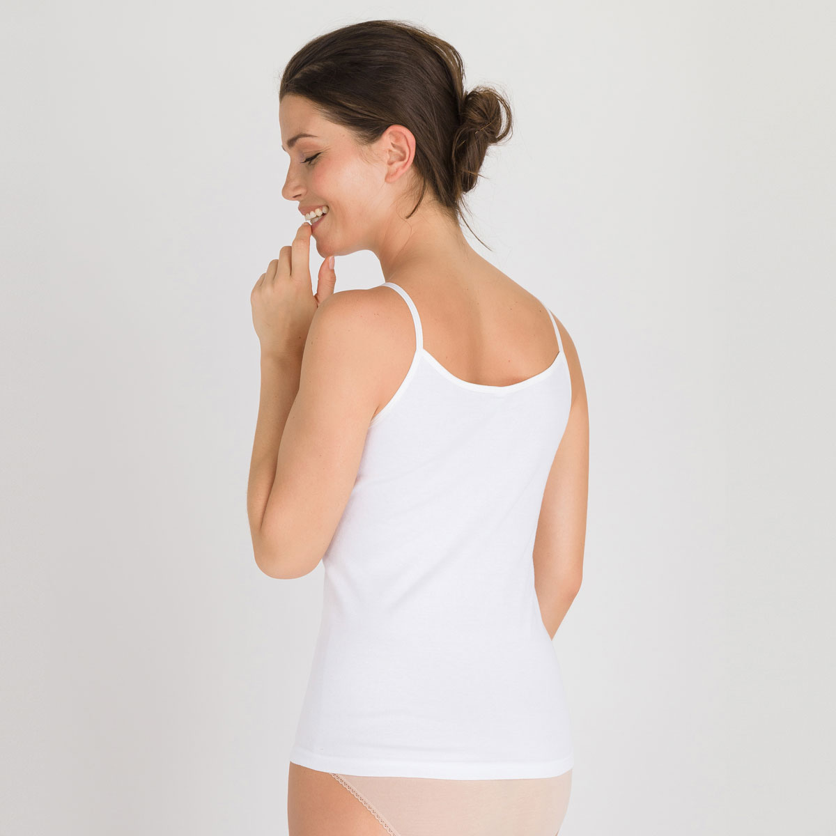 Caraco blanc - Cotton Feminine-PLAYTEX