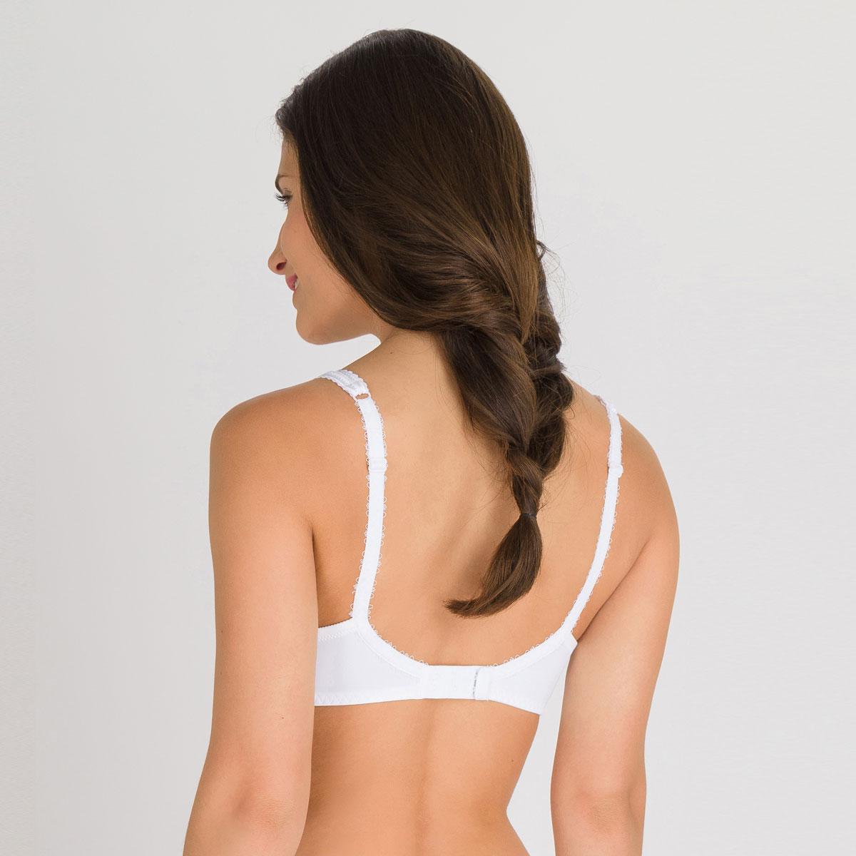 Soutien-gorge spacer sans armatures blanc  - Flower Elegance-PLAYTEX