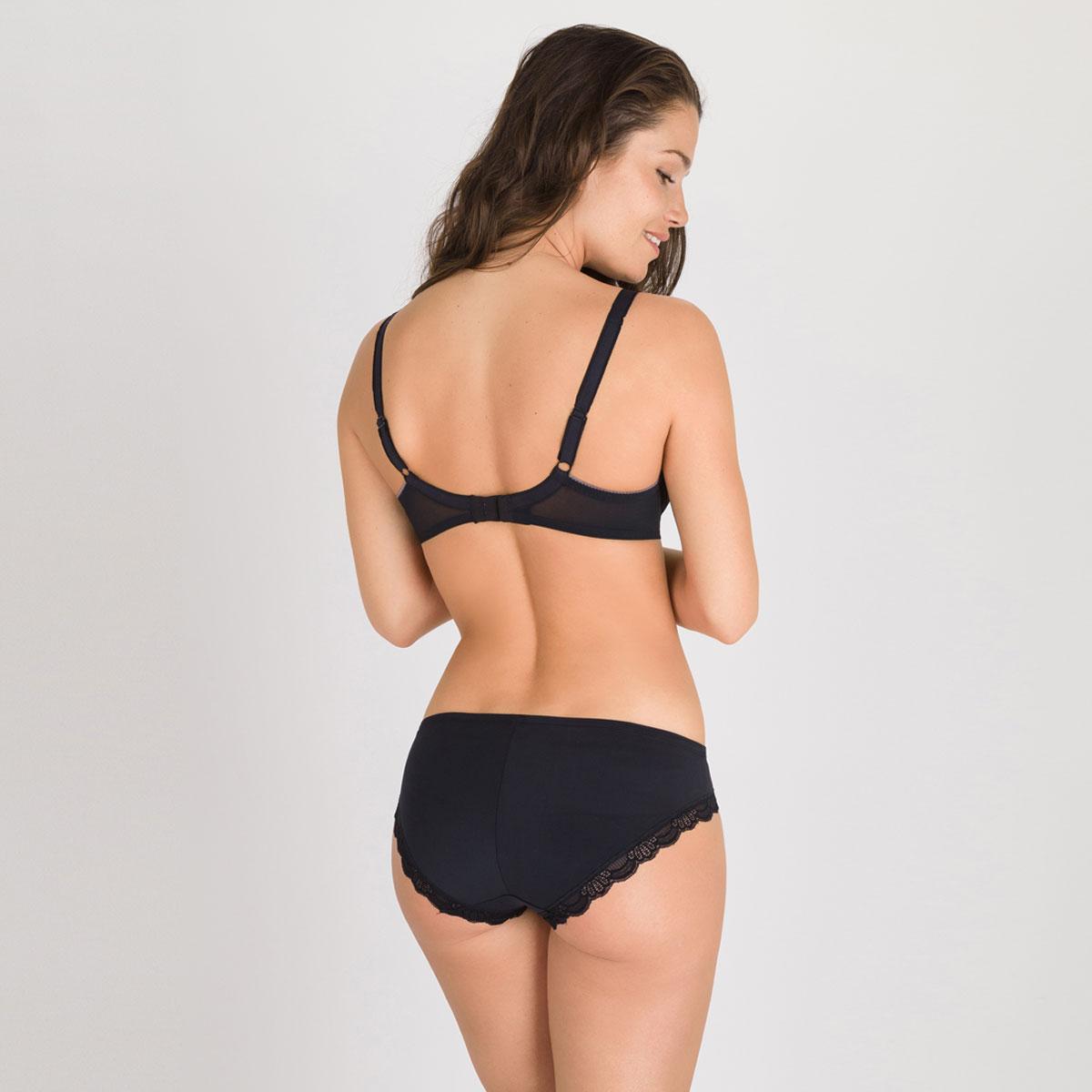 Soutien-gorge foulard noir – Invisible Elegance-PLAYTEX