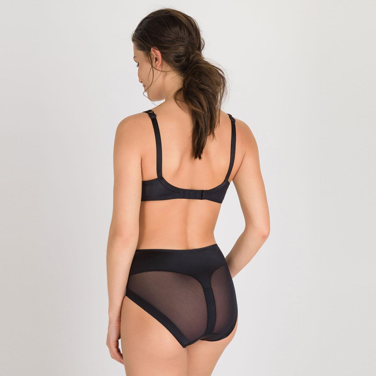 Culotte Maxi invisible noire - Perfect Silhouette-PLAYTEX