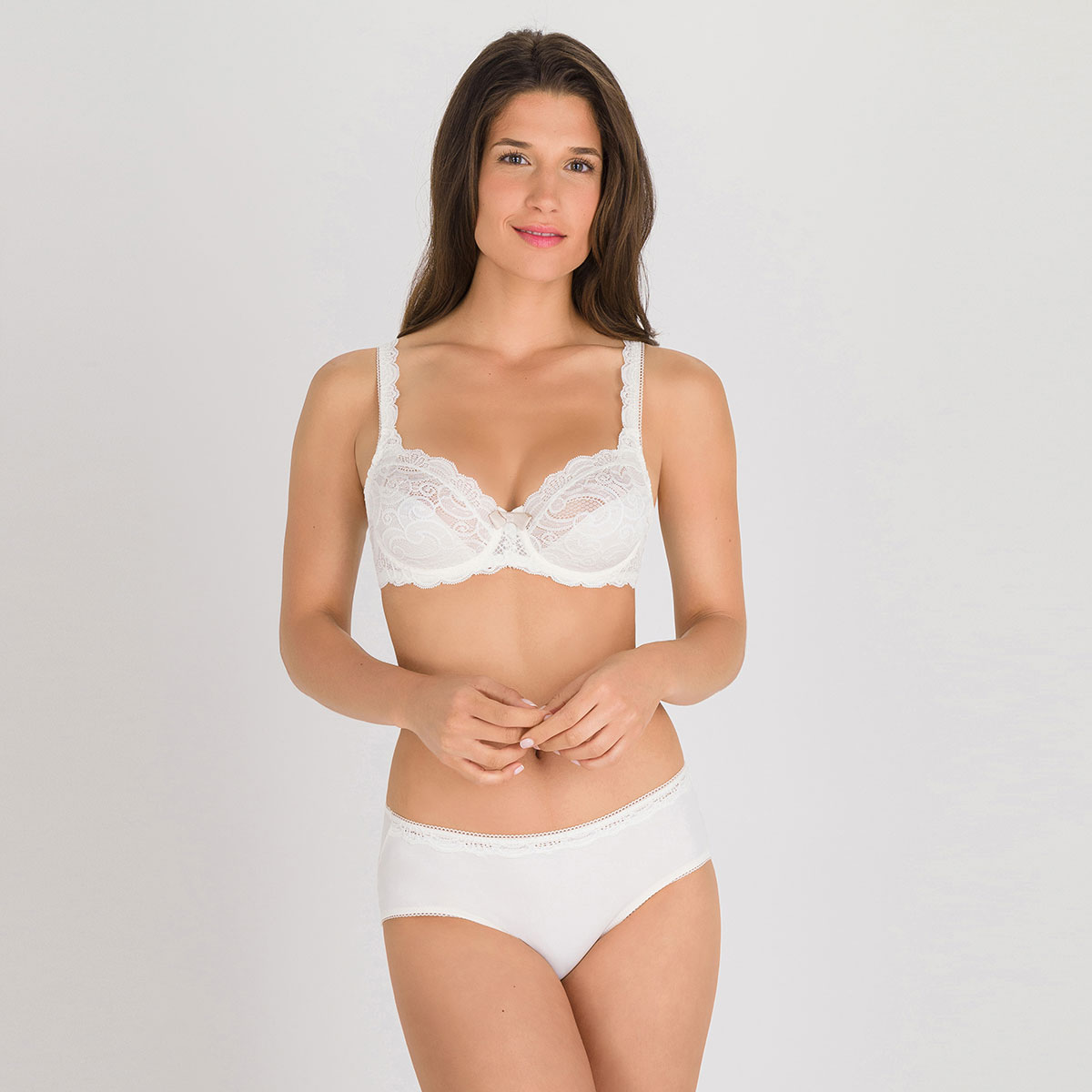 Culotte Midi ivoire – Invisible Elegance-PLAYTEX
