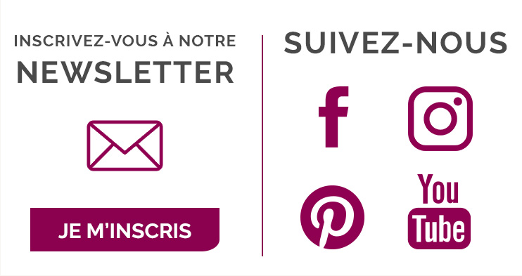 Je m'inscris à la newsletter