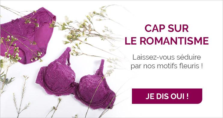 Cap sur le romantisme, Laissez-vous séduire par nos motifs fleuris !