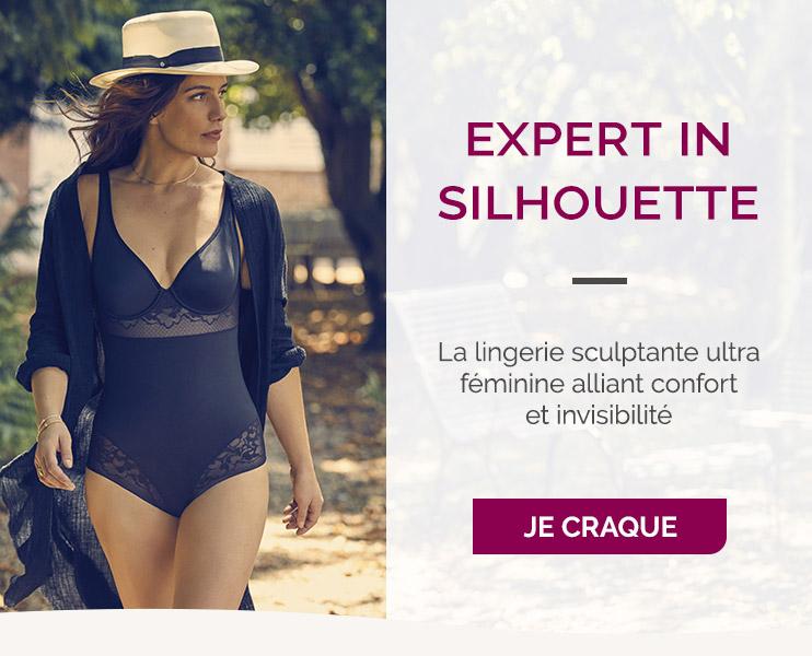 Expert in Silhouette, la lingerie sculptante ultra féminine alliant confort et invisibilité