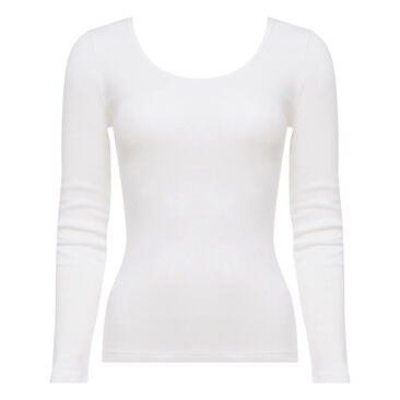 Top manches longues blanc - Cotton Liberty-PLAYTEX