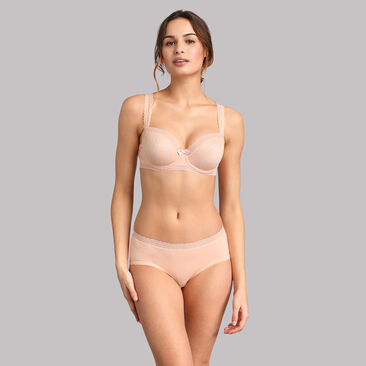 Culotte midi invisible rose pâle Invisible Elegance, , PLAYTEX