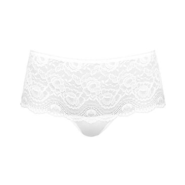 Shorty blanc - Flower Elegance-PLAYTEX