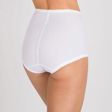 Culotte gainante serre-taille blanche  – ICUG-PLAYTEX