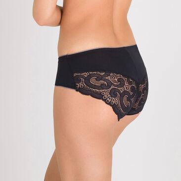 Culotte Midi noire – Invisible Elegance-PLAYTEX