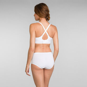 Soutien-gorge coton blanc Feel Good Support Coton, , PLAYTEX