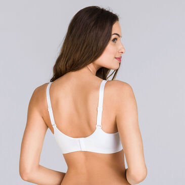 Soutien-gorge sans armatures blanc - Feel Good Support-PLAYTEX