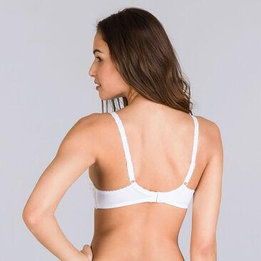 Soutien-gorge emboîtant blanc – Flower Elegance-PLAYTEX