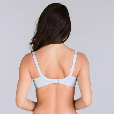 Soutien-gorge balconnet bleu lilas - Invisible Elegance-PLAYTEX