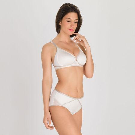 Soutien-gorge sans armatures ivoire - Ideal Beauty c46c2bbcf07