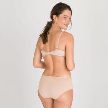 Culotte Midi beige - Flower Elegance-PLAYTEX