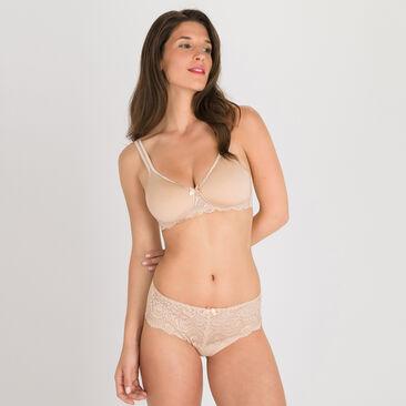 Soutien-gorge spacer sans armatures beige Flower Elegance, , PLAYTEX