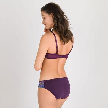 Culotte mini imprimé violet - Daily Elegance-PLAYTEX