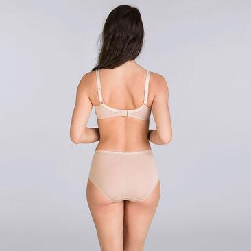 3 culottes Maxi noire, blanche et beige - Coton Stretch-PLAYTEX