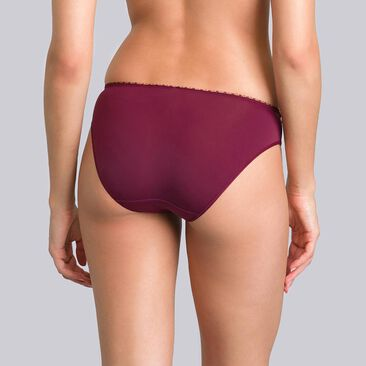 Culotte Mini violette bordeaux - Flower Elegance-PLAYTEX