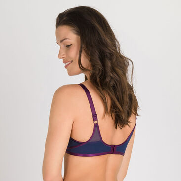 Soutien-gorge sans armatures bleu violet- Ideal Beauty-PLAYTEX