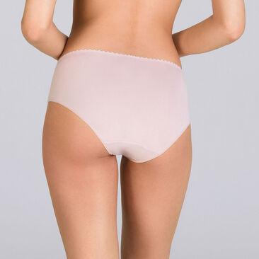 Culotte Midi rose et beige - Flower Elegance-PLAYTEX