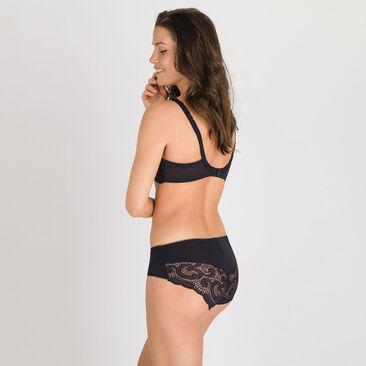 Soutien-gorge balconnet noir – Invisible Elegance-PLAYTEX