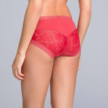 Culotte dentelle Midi rouge - Invisible Elegance - PLAYTEX