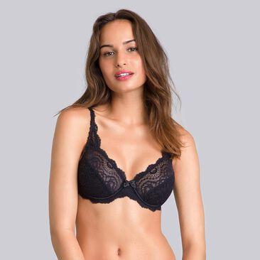 Lot de 2 soutiens-gorge blanc noir – Flower Elegance-PLAYTEX