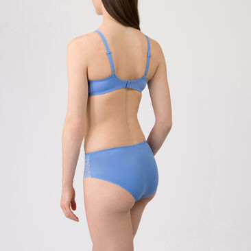 Shorty bleu - Flower Elegance-PLAYTEX
