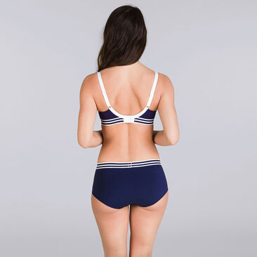 Shorty marine & blanc - Sporty Chic-PLAYTEX