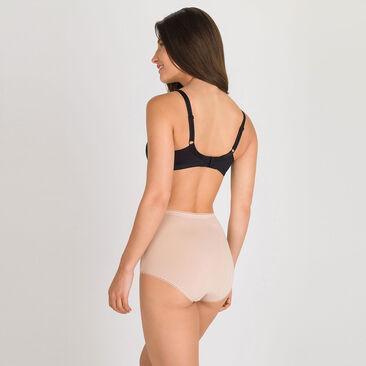 3 Culottes Maxi coloris peau – Coton Stretch-PLAYTEX