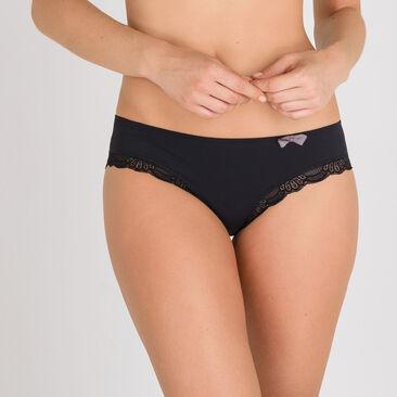 Culotte Mini noire – Invisible Elegance-PLAYTEX
