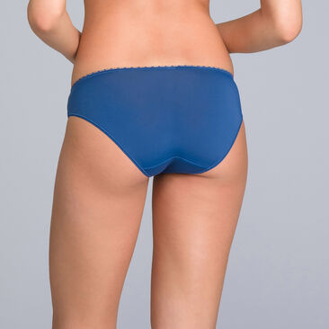 Culotte Mini bleu marine imprimé - Flower Elegance Micro, , PLAYTEX