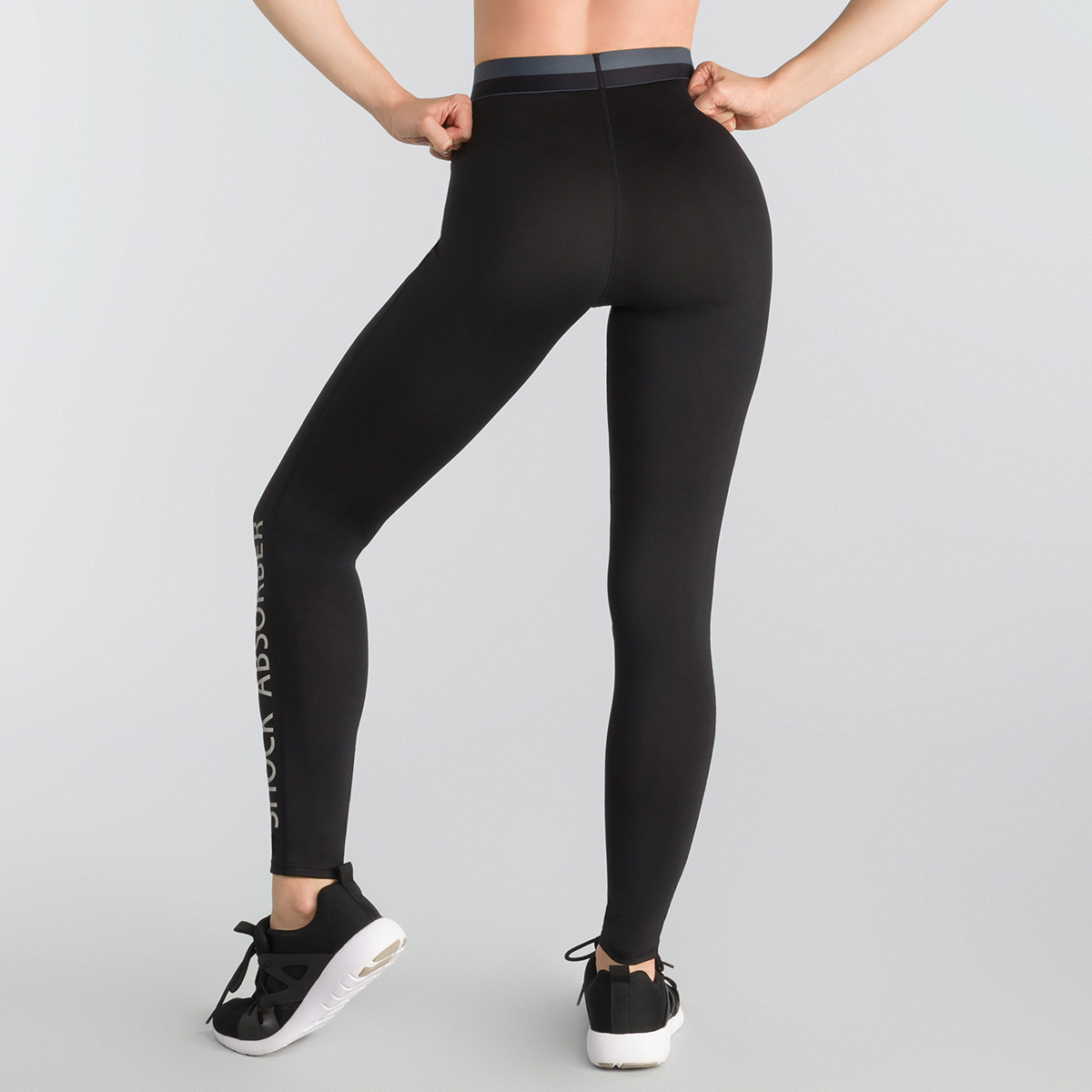 Legging sport femme coloris noir Active Wear Shock Absorber, , DIM