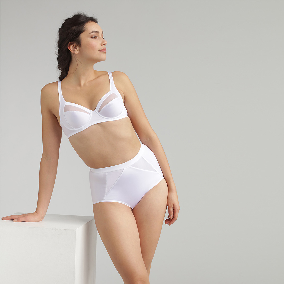 Culotte Maxi blanche - Perfect Silhouette, , PLAYTEX