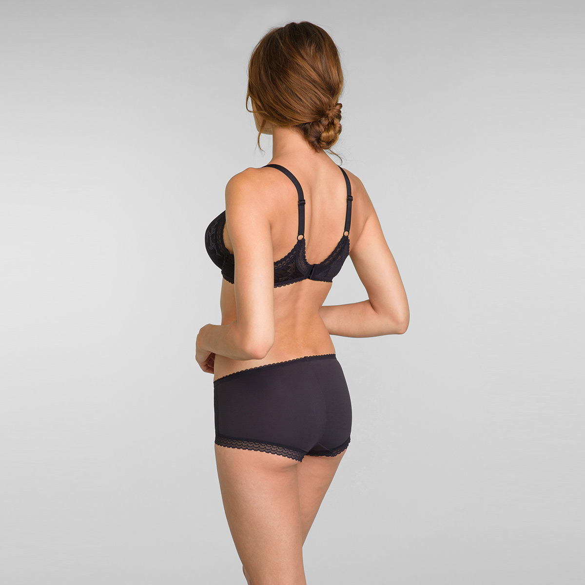 Soutien-gorge invisible triangle noir - Invisible Elegance, , PLAYTEX