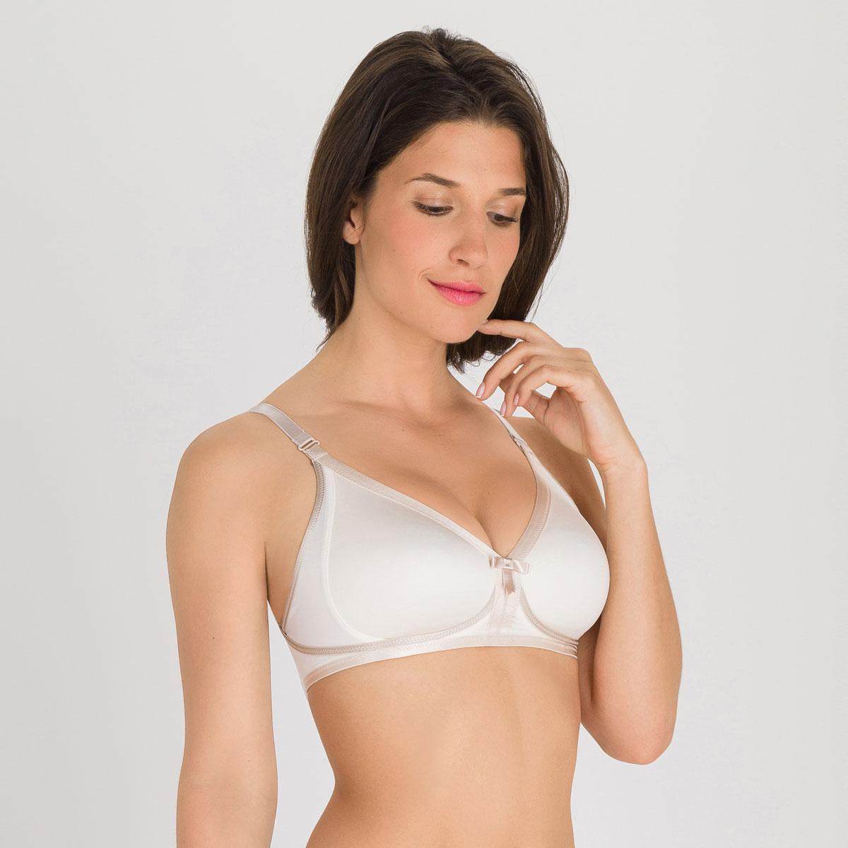 Soutien-gorge sans armatures ivoire - Ideal Beauty, , PLAYTEX