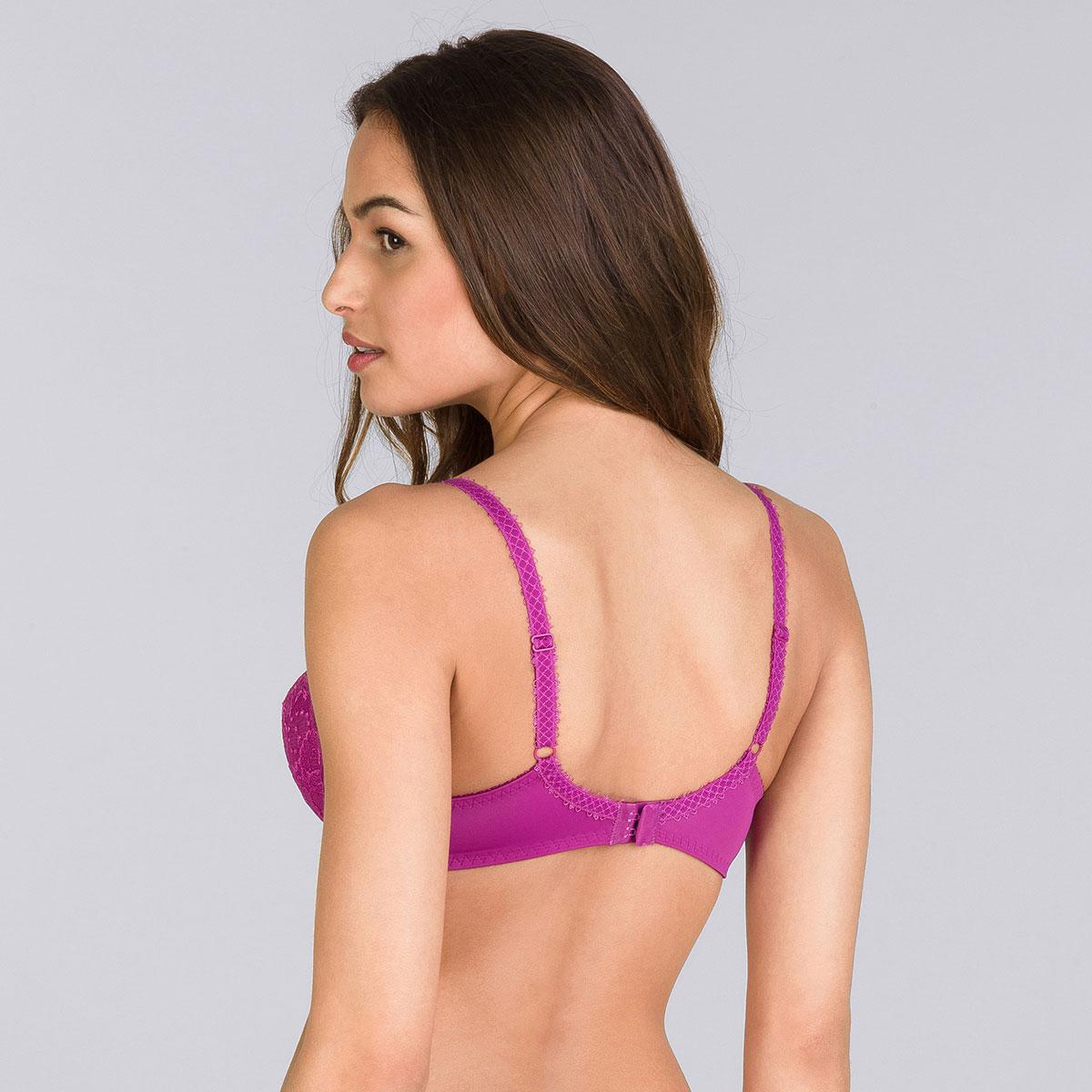 Soutien-gorge emboîtant violet fushia - Flower Elegance-PLAYTEX