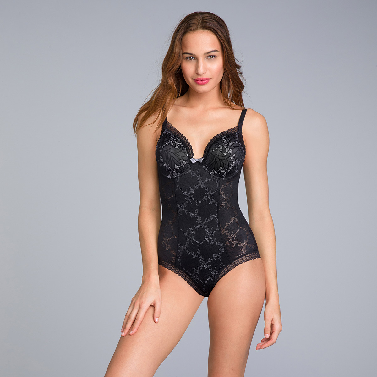 Body dentelle noir - Invisible Elegance, , PLAYTEX