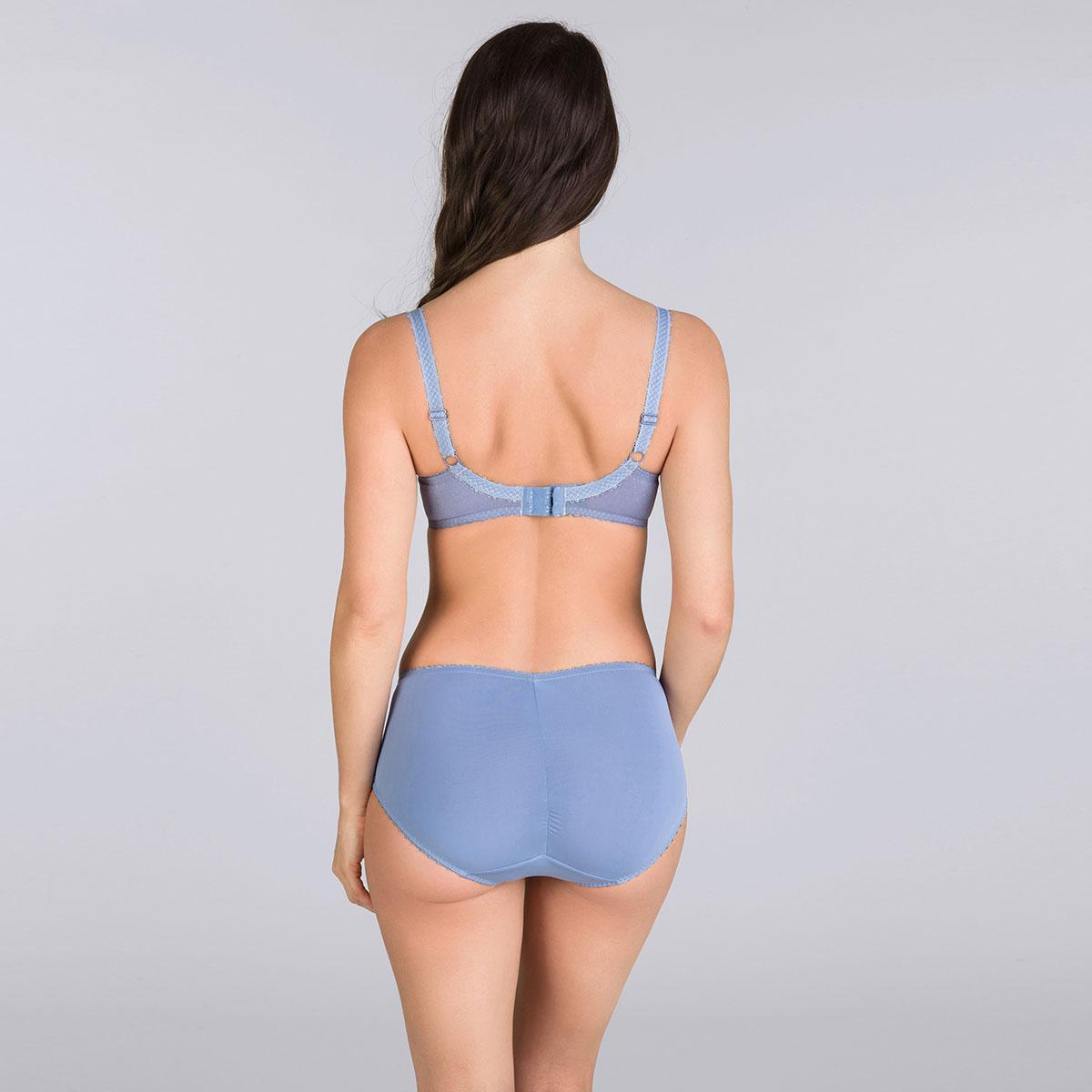 Culotte Midi bleu jean - Cœur Croisé Dentelle-PLAYTEX