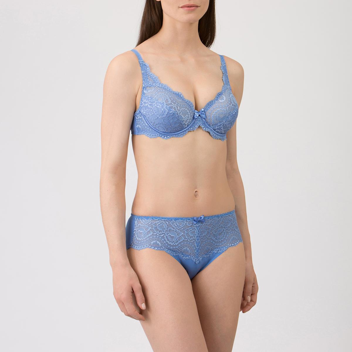 Culotte Midi bleue - Flower Elegance-PLAYTEX