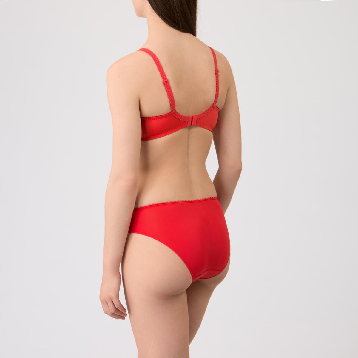 Soutien-gorge balconnet rouge -Flower Elegance-PLAYTEX