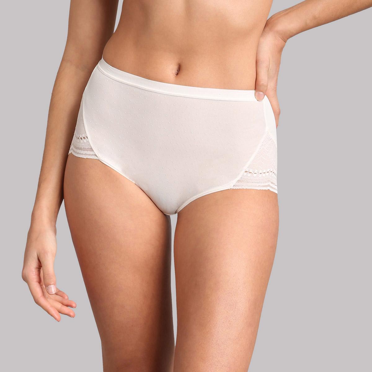 Culotte maxi dentelle ivoire Secret Comfort, , PLAYTEX
