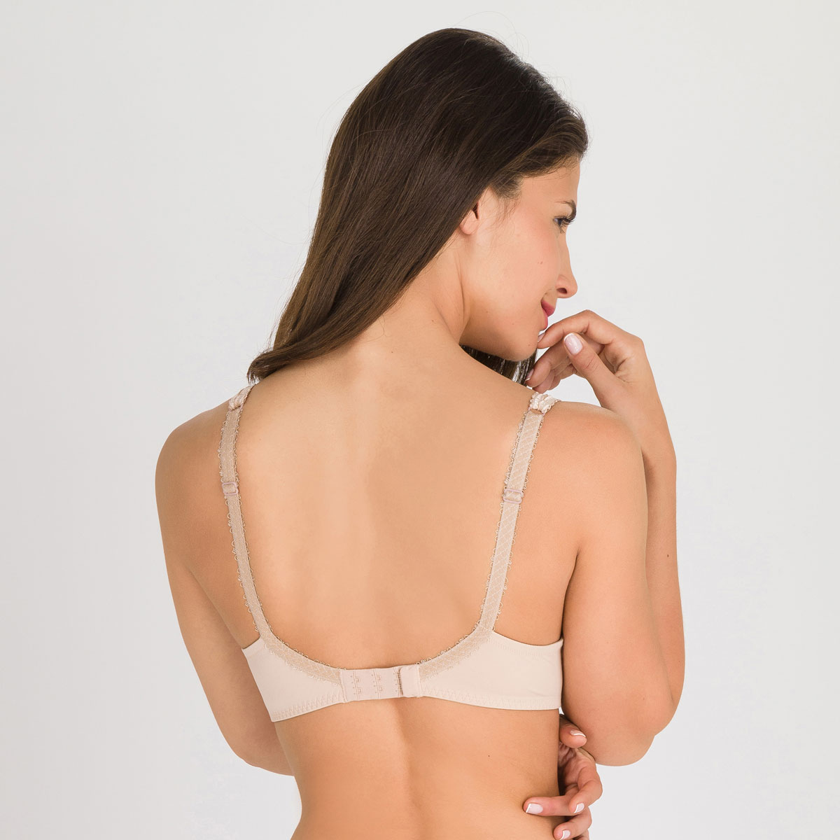 Soutien-gorge spacer sans armatures beige - Flower Elegance-PLAYTEX