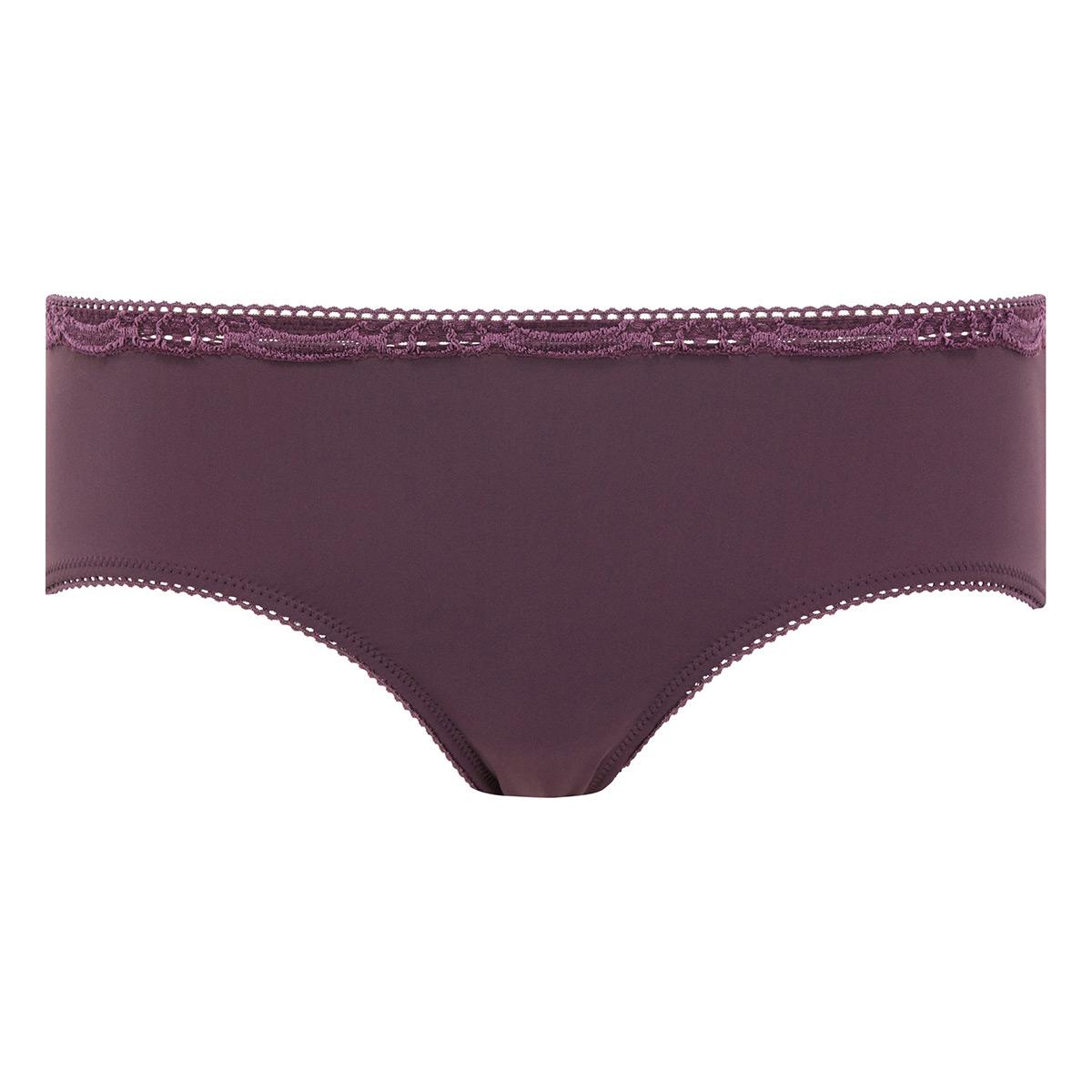 Culotte Midi noire prune - Invisible Elegance-PLAYTEX