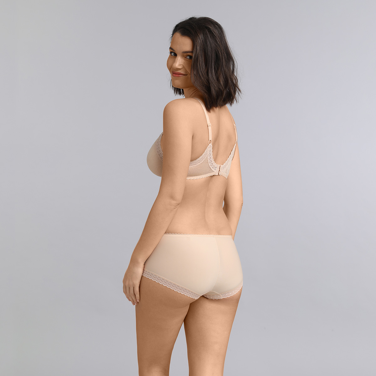 Soutien-gorge invisible triangle beige Invisible Elegance, , PLAYTEX