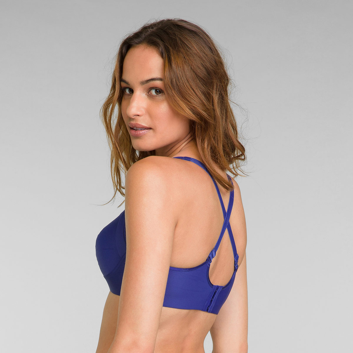 Soutien-gorge sans armatures bleu intense Feel Good Support, , PLAYTEX